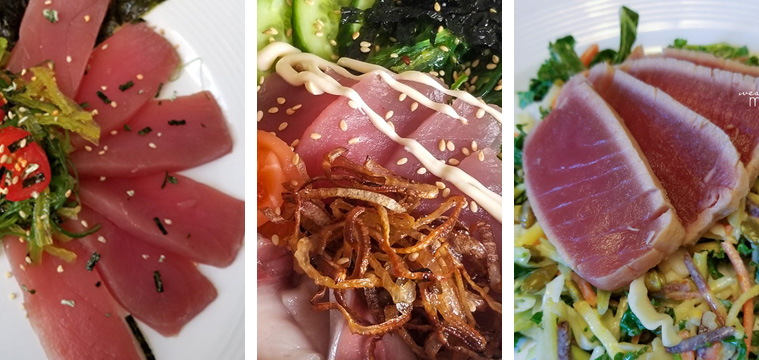 Ahi Tuna Three Ways - Milk & Eggs Sponsored Post